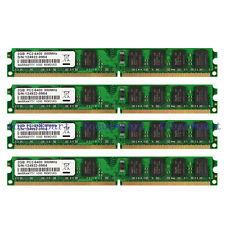 8GB KIT (4x2GB) PC2-6400 DDR2-800MHz DIMM RAM High Density Desktop Memory 240pin