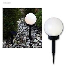 LED Lampe sphérique Ø15cm, solaire boule Jardin Luminaire de