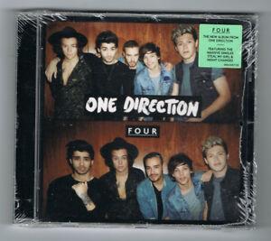 ONE-DIRECTION-FOUR-CD-12-TITRES-2014-NEUF-NEW-NEU