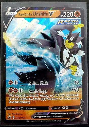 Rapid Strike Urshifu V SWSH107 Ultra Rare - SWSH Promo & Rapid Strike Energy