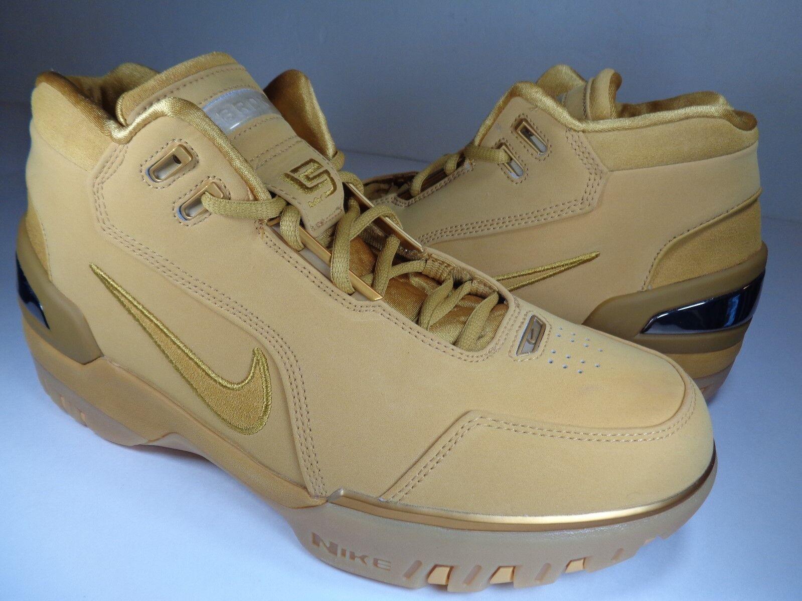 Nike air zoom generation retro retro generation - asg - lebron 1 gold sz 9,5 (aq0110-700) 8e4d99