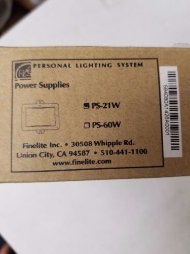 Personal Lighting System PS-21W 59408 Power Supply