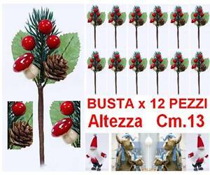 BUSTA-N-12-PIC-DECORO-ALBERO-NATALE-H-13-con-PIGNE-FUNGHI-PINO-BACCHE-ROSSE-9584
