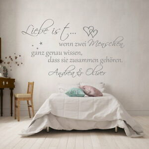 Wandtattoo-Wandaufkleber-Schlafzimmer-Spruch-Liebe-wenn-zwei-Menschen