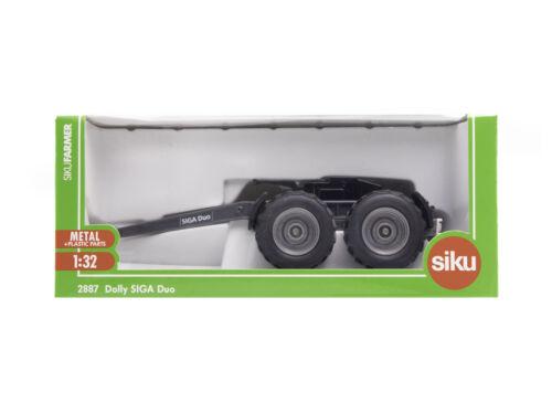 8701 Siku Farmer 2887 Dolly SIGA Duo für Traktor 1:32 OVP