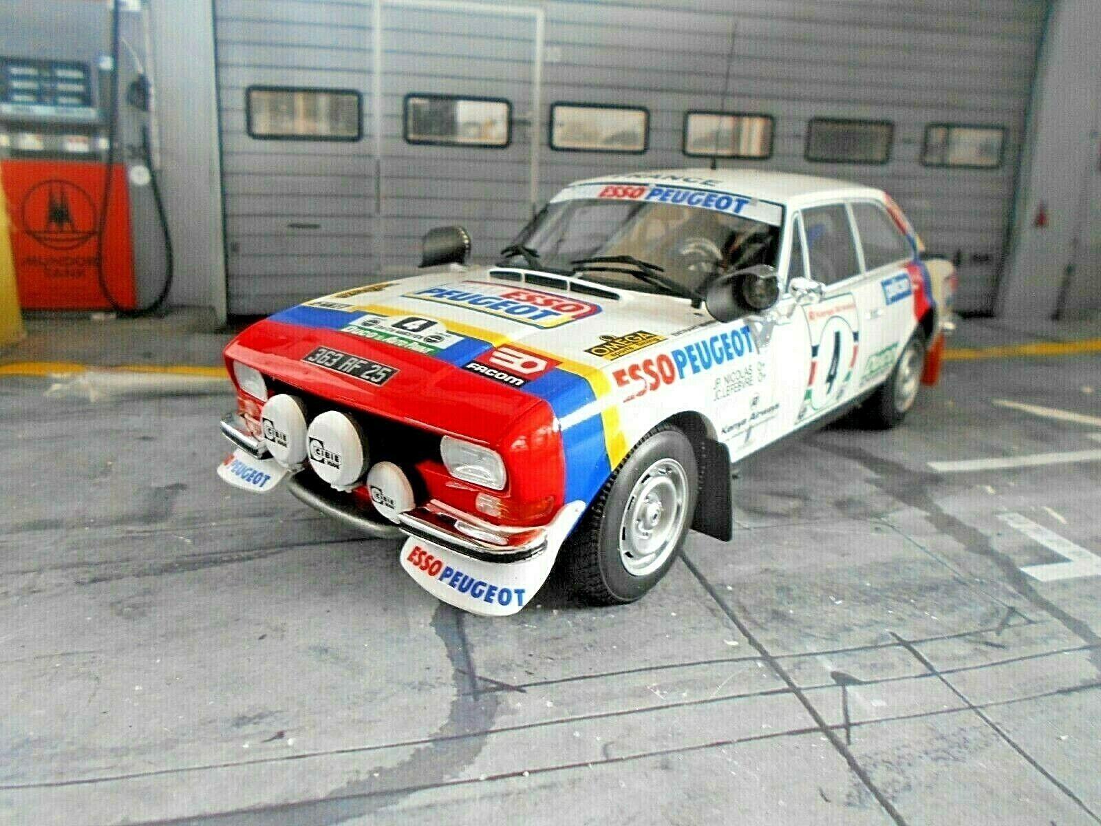 PEUGEOT 504 Gr.4 Coupe V6 Safari Rallye 1978  14 Nicolas Winner OTTO NEU 1 18