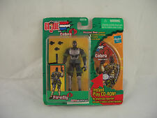 GI Joe vs Cobra Firefly Figure with Mission Disc