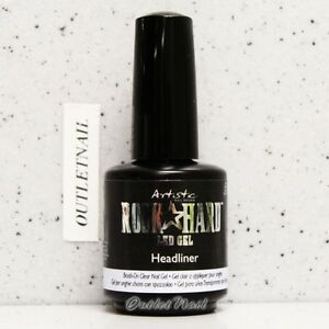 Artistic Nail Design Rock Hard Led Gel Headliner 02205 Brush On