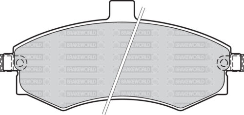 OEM SPEC FRONT DISCS AND PADS 257mm FOR HYUNDAI ELANTRA 2.0 TD 2002-03