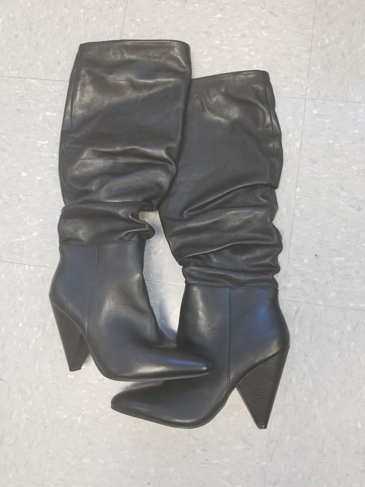 Steve Madden Pelle Slouch High Slouch Pelle Knee High Slouch Stivali 349   ad6d67
