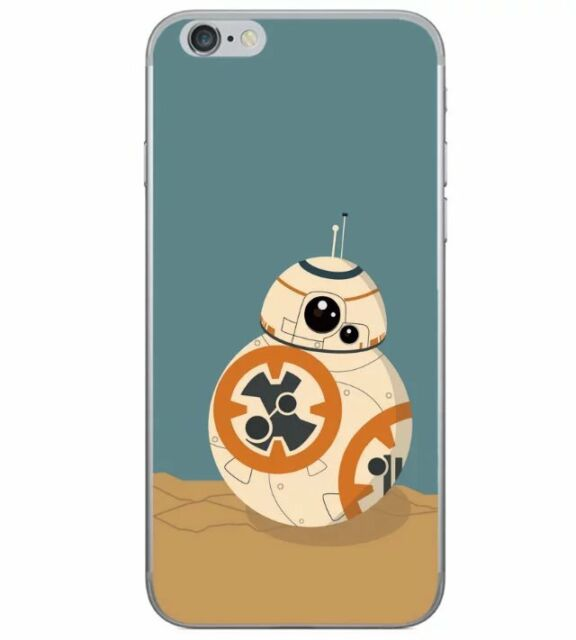 New Cartoon Robot 7 Star Wars TPU Soft Back Case Cover For iPhone 5 5s 6 6s Plus