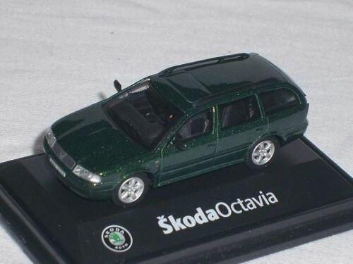 Skoda Octavia i 1 Tour combi combi naturaleza verde 171 babd 005h 1//72 Abrex maqueta de coche