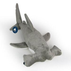 Stofftier-Hammerhai-Hai-Plueschtier-Kuscheltier-Pluesch-Laenge-ca-50cm