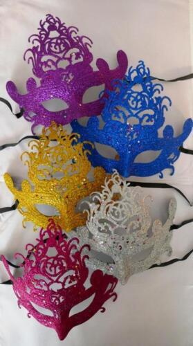 Masquerade Maschera per ballo addio al celibato nubilato NUOVO Anni Vigilia Costume Festa Celebrazione