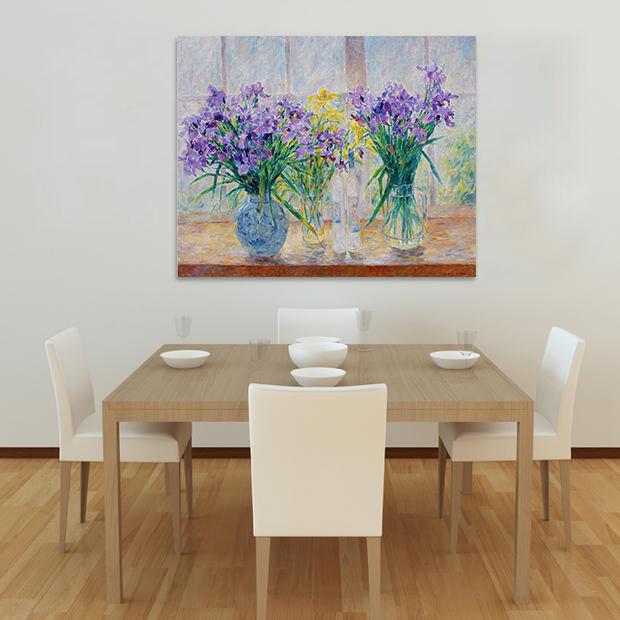 3D Sunny Fenster purple blueme 754 Fototapeten Wandbild BildTapete AJSTORE DE Lemon