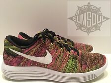 Nike LunarEpic Low Flyknit OC Running Olympic Multi Color 844862 999 ??9.5