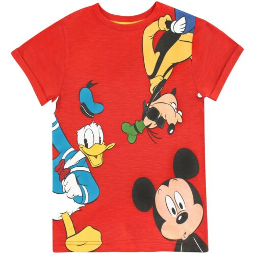 Mickey Mouse T-ShirtBoys Mickey Mouse TeeMickey Mouse Daffy Duck Goofy