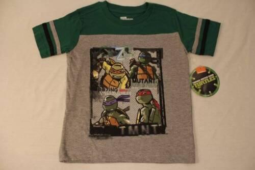 Teenage Mutant Ninja Turtles Boys Girls T-Shirt TMNT Size 5-6 NWT