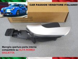 Poignee-Ouverture-Port-Interne-Alfa-Romeo-Giulietta-2010-gt-avant-Gauche-SX