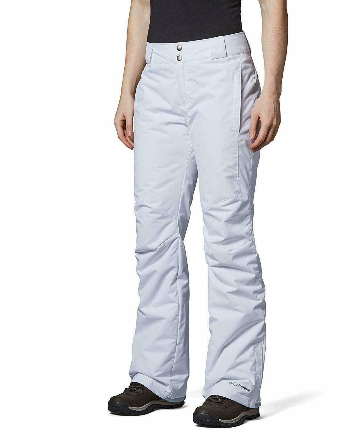 Columbia Bugaboo II Pants, XSmall Regular, White