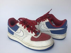 new concept b3fc9 22896 Image is loading PRE-OWNED-Nike-Air-Force-1-039-82-