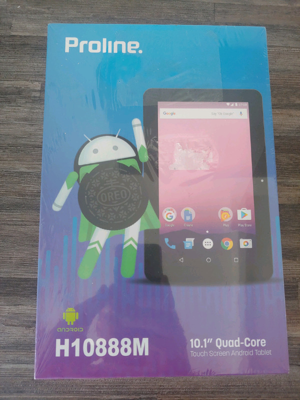 "Proline H10888M / 10.1"" LTE + Wi-Fi Tablet / Brand New Sealed"