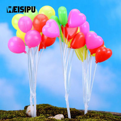 Balloons Cupcake Picks Happy Birthday Cake Toppers For Wedding Party Decor/_hg