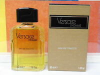 Vintage Old Formula Versace L'homme 1.6 Fl Oz / 50 Ml Splash In Box