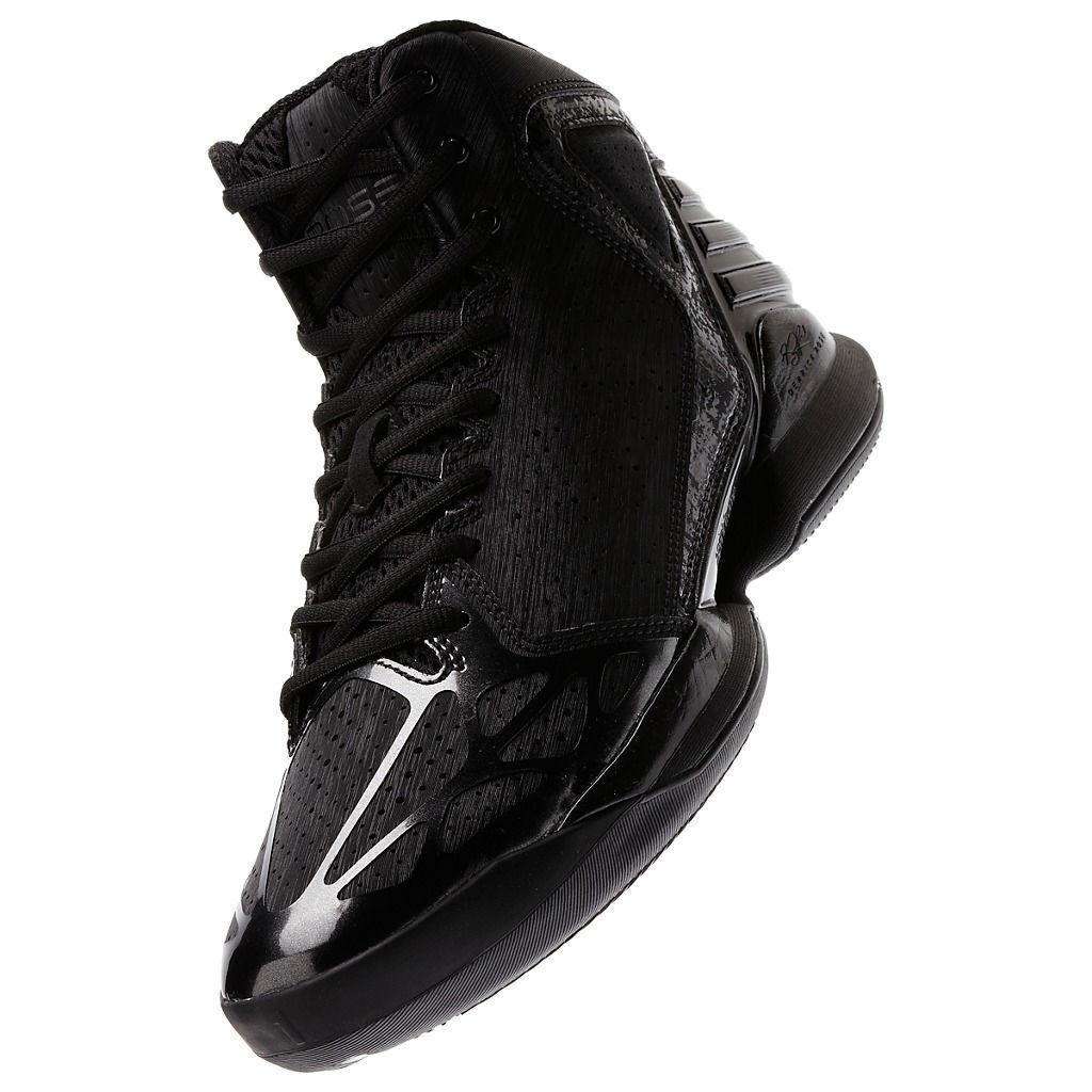 RARE~Adidas ROSE 773 BLACKOUT derrick crazy Basketball light fast Shoe~Mens Price reduction