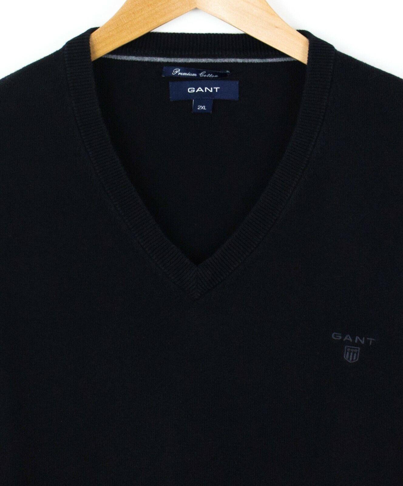ecccb33258 Gant Uomo Maglione Cotone Premium Maglione Pullover Pullover ...