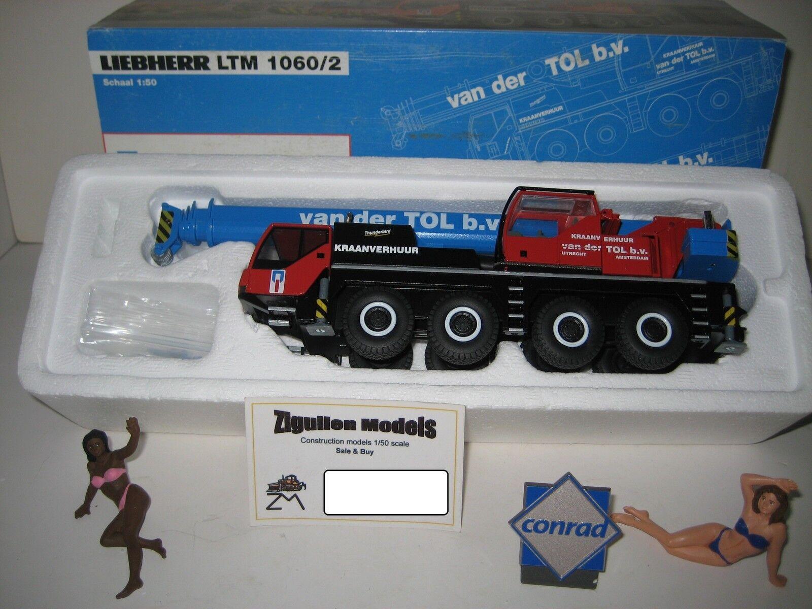 LIEBHERR LTM 1060-2 AUTOKRAN VAN DER TOL CONRAD 1 50 OVP