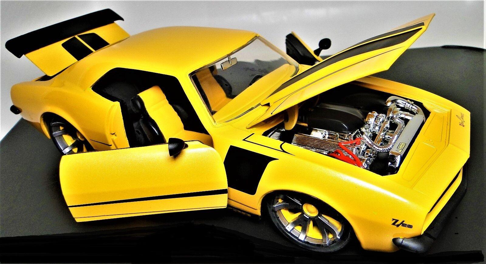 Z28 1969 Camaro Chevy 1 Chevrolet Chevrolet Chevrolet Built Vintage Classic Hot Rod Car 25 Model 24 40fb82