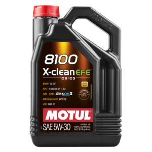 TAGLIANDO-5-LT-LITRI-OLIO-MOTUL-8100-X-CLEAN-XCLEAN-5W30-C2-C3-FE-PSA-B71-2290