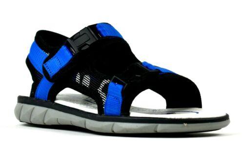 Grip Sole Open Toe Double Easy Fastening Summer Beach Sandals Boys Kids Infants