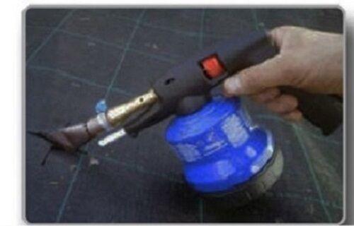 Pistolet thermique à air chaud mauvaises herbes couverture du sol en tissu