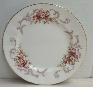 English-Paragon-Rose-Bouquet-Pattern-Bone-China-Side-Plate-England-c1981-Only