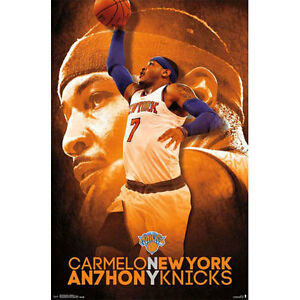 New York Knicks - Carmello Anthony POSTER 57x86cm NEW * NBA Basketball Player