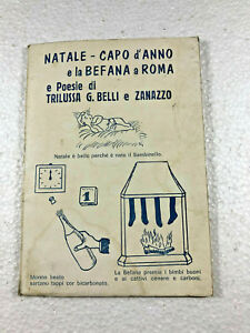 Poesie Di Natale Trilussa.Dettagli Su Natale Capo D Anno E Befana A Roma E Poesie Di Trilussa Belli E Zanazzo