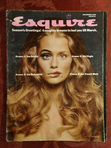 ESQUIRE-December-1968-Lauren-Hutton-Walter-Matthau-Norman-Mailer-Joe-Namath