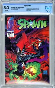Spawn #1 CBCS 8.0 (May 1992, Image) 1st Appearance of Spawn. Todd McFarlane.