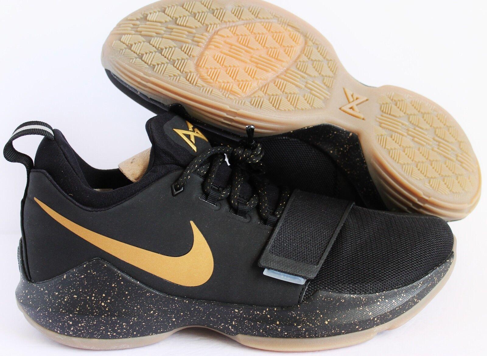Nike PG 1 Paul goma George id oro negro goma Paul SZ 11 [aa1747-991] bb73e2