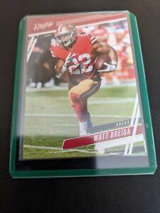 2020 Panini Prestige Football Mint #1 Matt Breida San Francisco 49ers