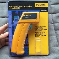 New Fluke 59 Handheld Laser Ir Infrared Thermometer Gun Temperature Meter Tester