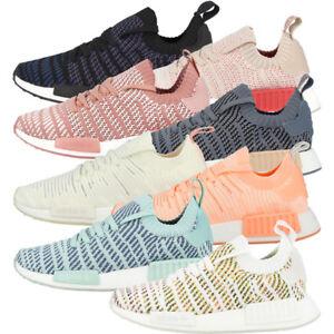 Details about Adidas nmd_r1 STLT PK Women Shoes Primeknit Trainer Ladies Casual Sneakers show original title