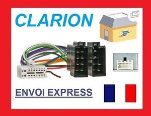 CAR RADIO ADAPT KABEL ISO ANSCHLUSS for CLARION CZ 302 E 702 e FZ ...