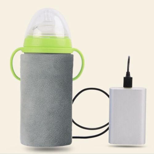 USB baby bottle warmer portable travel feeding bottle insulation food heater Pip