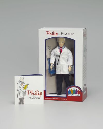 Philip the Physician collectible doll Doctor doll MD