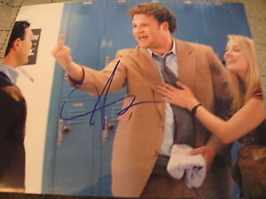 SETH-ROGEN-SIGNED-AUTOGRAPH-8x10-PHOTO-PINEAPPLE-EXPRESS-IN-PERSON-COA-D