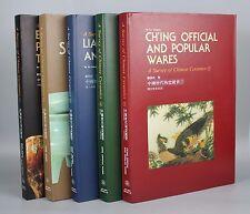 "Art Books ""Survey of Chinese Ceramics"" Porcelain Set of 5 Volumes"