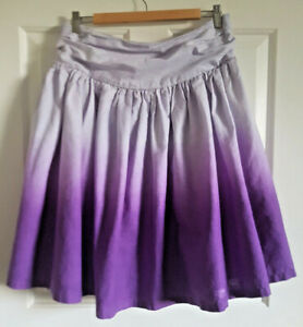 Linen-Full-Skirt-Dip-Dye-Purple-Ombre-Uk14-Festival-Boho-Swirly-Hippy-Festival